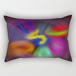 color circulo Rectangular Pillow