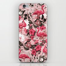 Floral and Flemingo III Pattern iPhone & iPod Skin