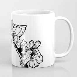 Flowers face Coffee Mug