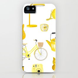 Yellow Collection iPhone Case