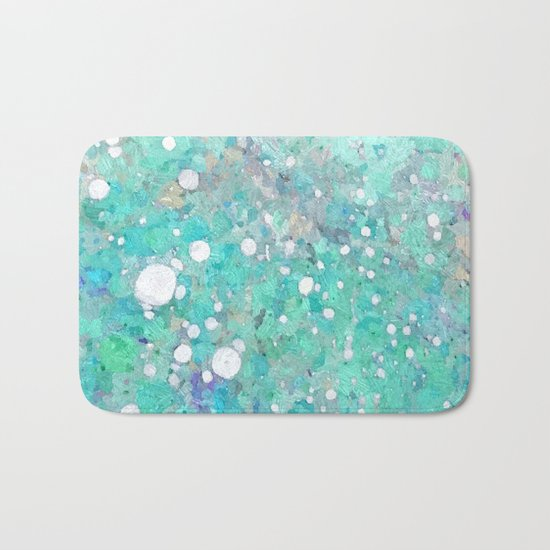 Marble Art V 17 #society6 #decor #buyart #lifestyle Bath Mat