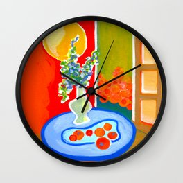 oranges in the afternoon ... Wall Clock