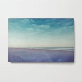 Along the Seashore Metal Print