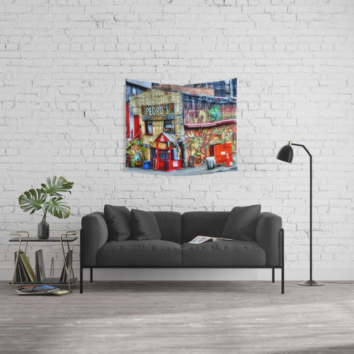 Mexican  Bar Wall Tapestry