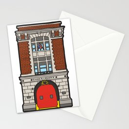 Ghostbusters Fire Station Stationery Cards