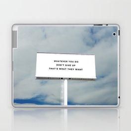 WHATEVER YOU DO Laptop & iPad Skin