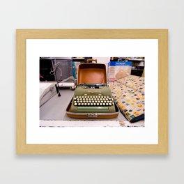 thrifting with megan Framed Art Print