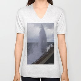 A Gale to Blow Out the Year #3 (Chicago Waves Collection) Unisex V-Neck