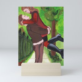 Romeo and Juliet - Lovers Embrace in Central Park Mini Art Print