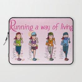 Running girl Laptop Sleeve