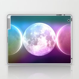 Moon Triple Goddess Rainbow Laptop & iPad Skin