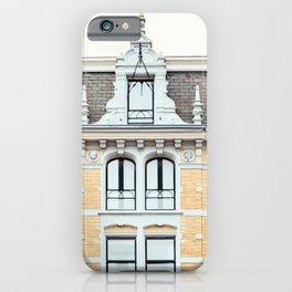 Dutch Baroque, Amsterdam Travel Photography iPhone Case