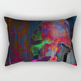 embrace the unknown, fear is a liar. Rectangular Pillow