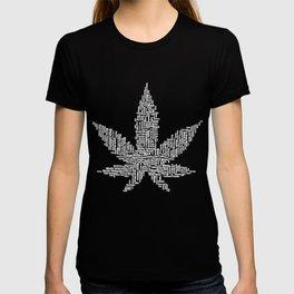 Weed merch T-shirt