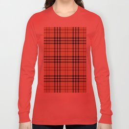 Tartan Plaid B Long Sleeve T-shirt