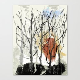 Dreams of a Dying Forest Canvas Print