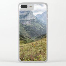Splendor from Highline Trail - Glacier Clear iPhone Case