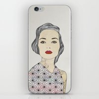 silver iPhone & iPod Skins featuring Silver by John Murphy