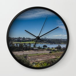 Cockatoo Island Landscape Wall Clock