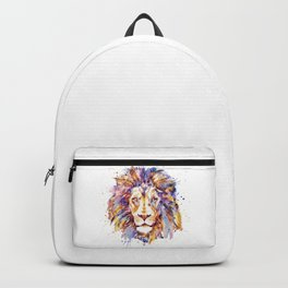 Lion Head Backpack