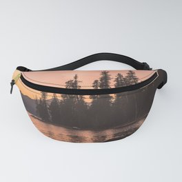 Forest Island at the Lake - Nature Photography Fanny Pack