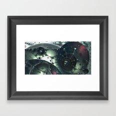 junkyard at Proxy Centaurion Framed Art Print
