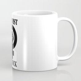 Feminist As Fuck Symbol Coffee Mug
