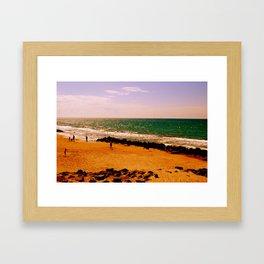 playing in summertime Framed Art Print