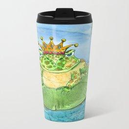 Frog King Metal Travel Mug