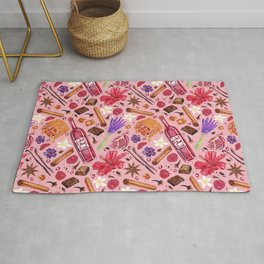 Love Potion Ingredients Rug
