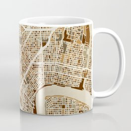 New Orleans Street Map Coffee Mug