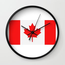 flag canada Wall Clock