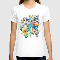 parrot T-shirts featuring PARROT by RIZA PEKER