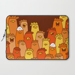 Pile of Clucks Laptop Sleeve