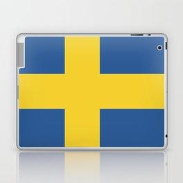 Sweden flag emblem Laptop & iPad Skin