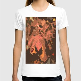 Abstract Fall Leaves T-shirt