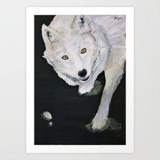 white fang Art Print
