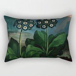 Flower Auricula Rectangular Pillow