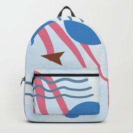 Abstract Ocean Scene What Lies Beneath Backpack