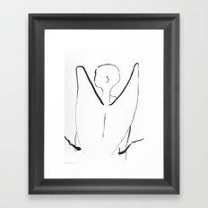 Angel in Chains Framed Art Print