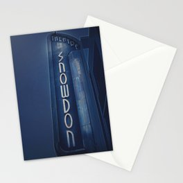 Deco Snowdon Stationery Cards