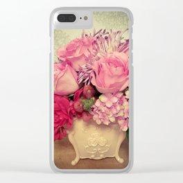 Pretty in Pink Clear iPhone Case
