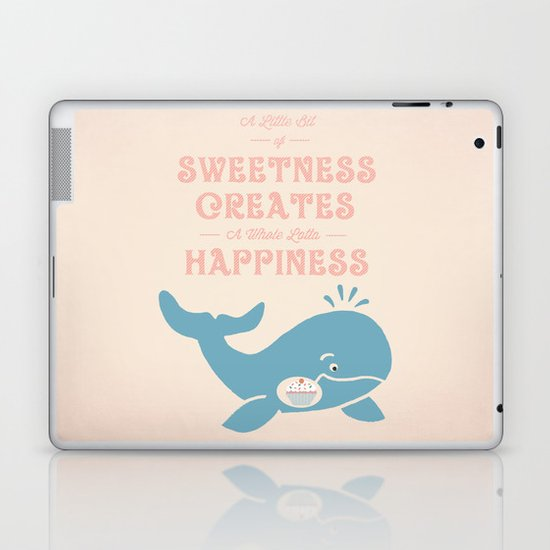 A Little Sweetness Laptop & iPad Skin