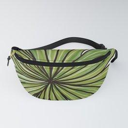 Digital Water Color Palm Frond Design Fanny Pack