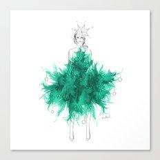 Christmas Tree Fashion Canvas Print