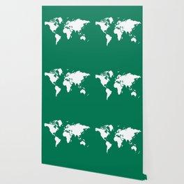 Emerald Elegant World Wallpaper