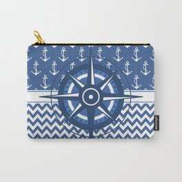 Captain's Compass Carry-All Pouch