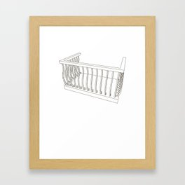 balcony Framed Art Print