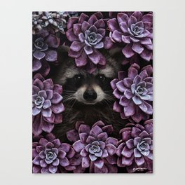 everything is magnified when you live from day to day. Canvas Print