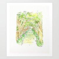 Also Trees Art Print